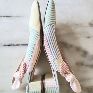 Amazing Jcrew Colour block shoes